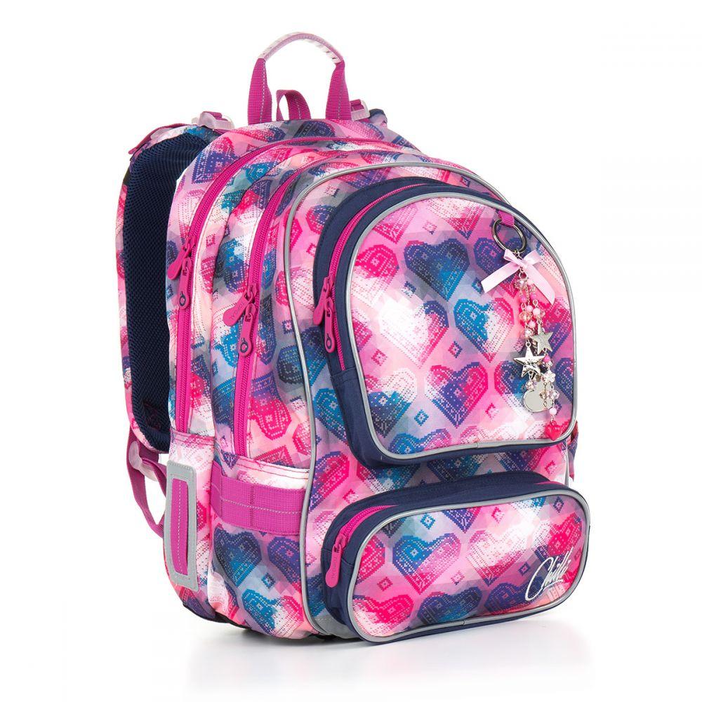 Школьный рюкзак для девочки topgal рюкзаки incase icon