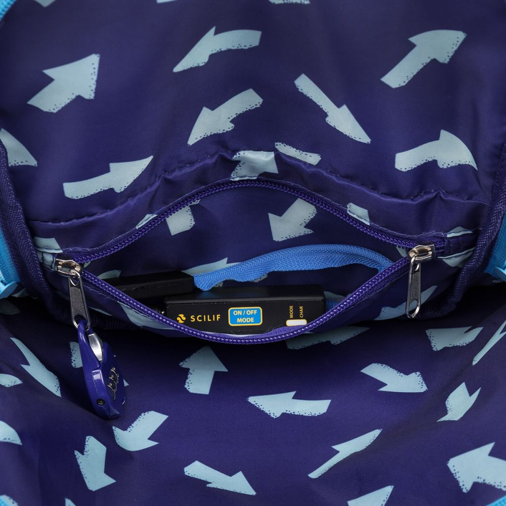 5b061e397fc6 ... Светящийся школьный рюкзак ENDY 17003 BATTERY фото ...