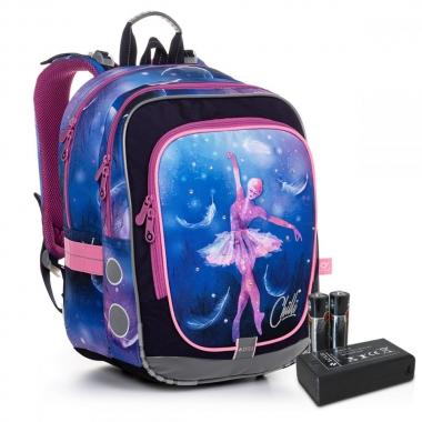 Светящийся школьный рюкзак ENDY 20006 BATTERY AA