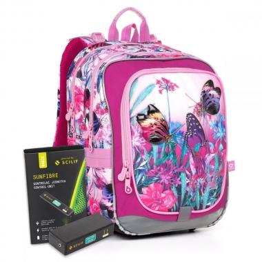 Светящийся школьный рюкзак ENDY 17004 BATTERY