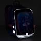 Светящийся школьный рюкзак ENDY 20006 BATTERY AA Topgal