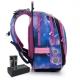 Светящийся школьный рюкзак ENDY 20006 BATTERY AA со скидкой